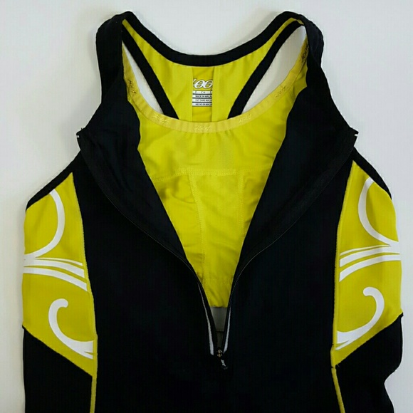 XS Zoot Mens Ultra Tri Tank Black//Yellow